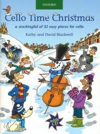 Cello Time Christmas with CD