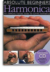 Absolute Beginners Harmonica with CD