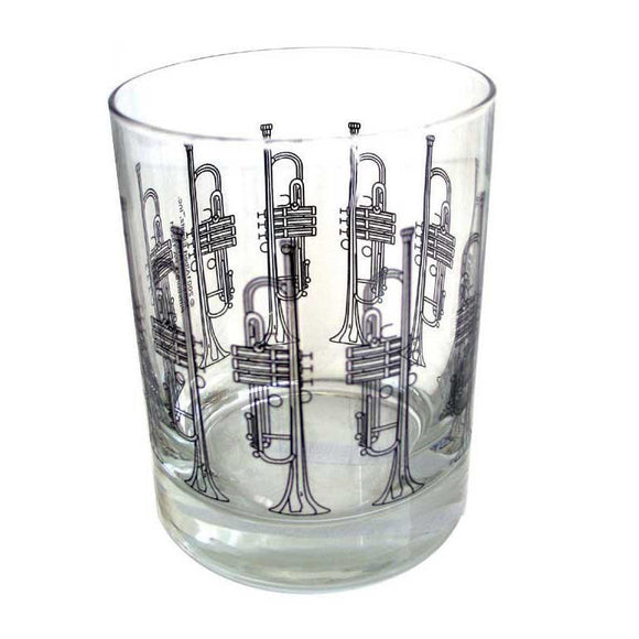 Glass Tumbler - Trumpet Design