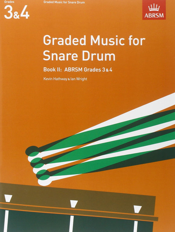 Graded Music for Snare Drum Book 2 Gds 3&4