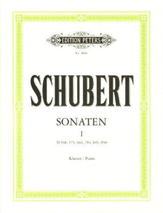 Schubert: Sonaten Volume 1