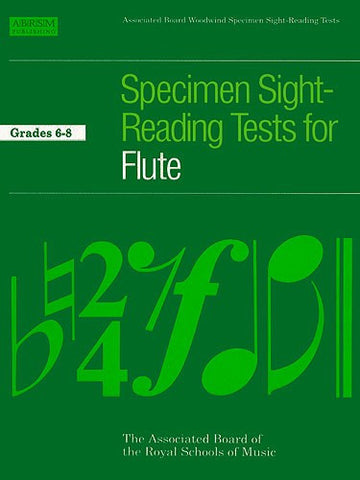ABRSM Flute Specimen Sight Reading Gds 6-8