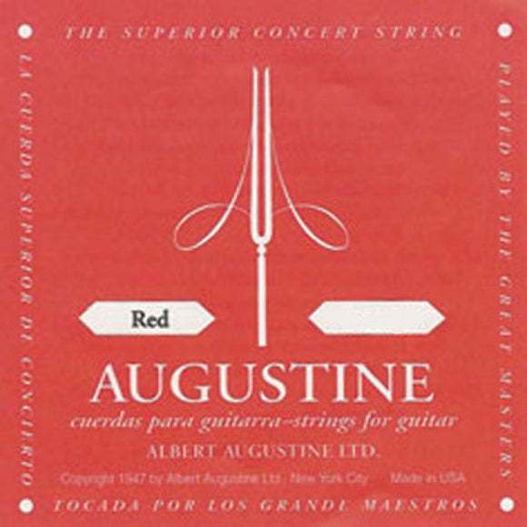 Augustine Classical Guitar Strings - Red
