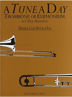 A Tune a Day Trombone/Euph. Treble Clef Book 1