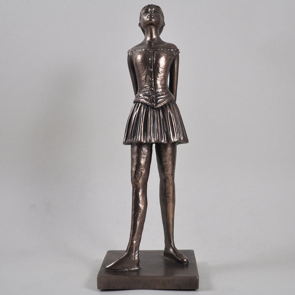 Degas Little Dancer, Cold Cast Bronze Sculpture by Beauchamp Bronze