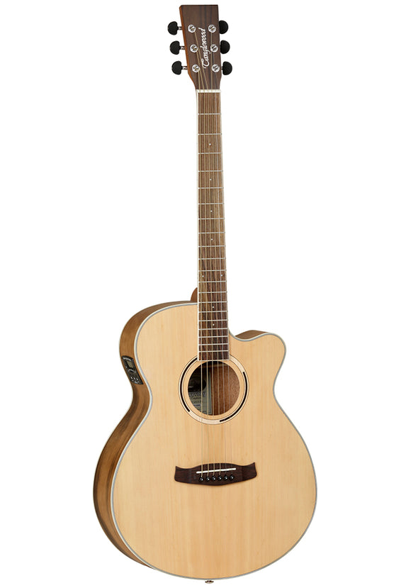 Tanglewood DBTSFCEPW Discovery Exotic Pacific Walnut Electroacoustic