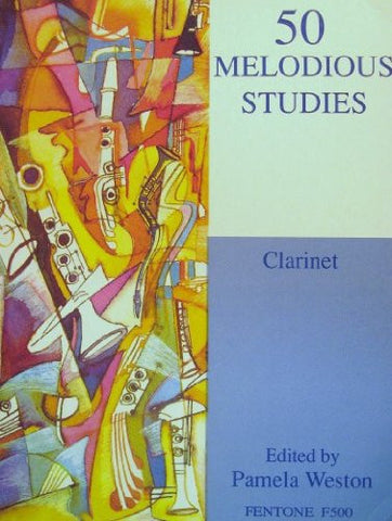 50 Melodious Studies for Clarinet