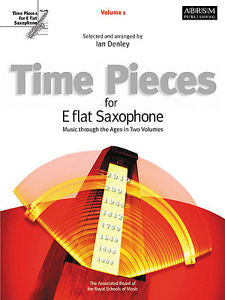 Time Pieces for Eb Saxophone Vol. 1