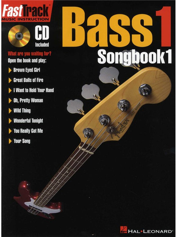 Fast Track: Bass 1 - Songbook One