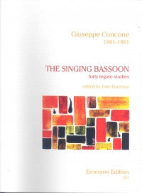 Concone, G.: The Singing Bassoon