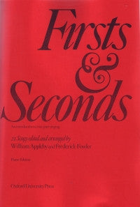 Firsts & Seconds: Introduction to 2-part Singing piano edition