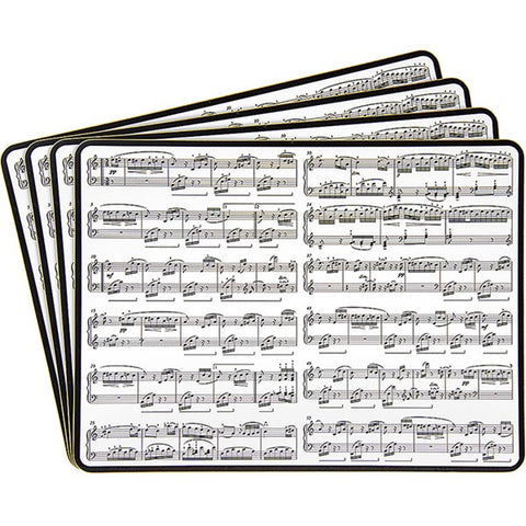 Making Music Table Mats Set of 4