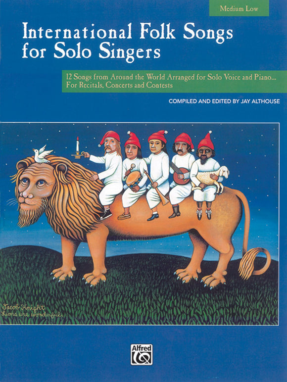 International Folk Songs for Solo Singers Med/Low