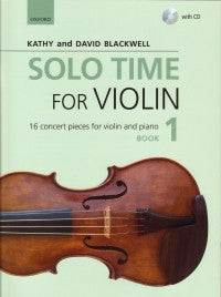 Solo Time for Violin Book 1 + CD