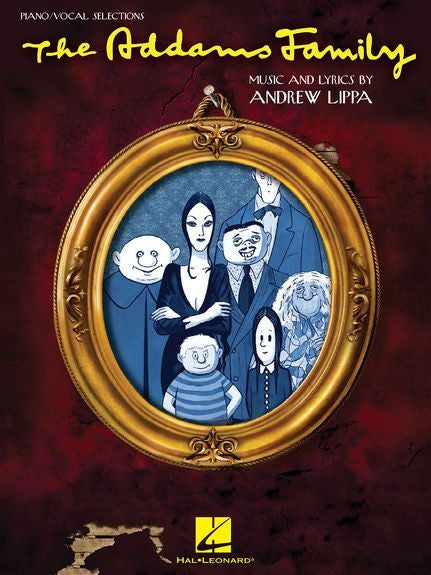 The Addams Family Piano Vocal Selections