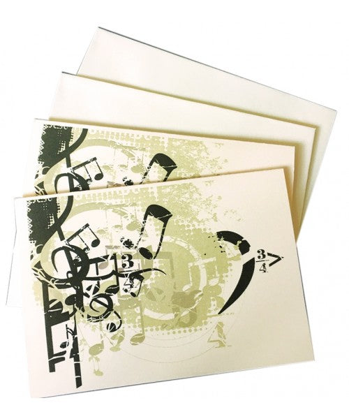 Music (Boxed Stationery)