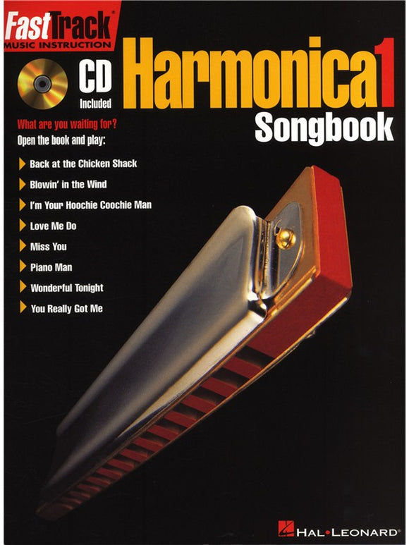 Fast Track Harmonica Songbook - Level 1