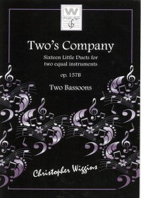 Two's Company - Duets for 2 Bassoons