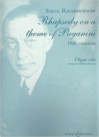Rachmaninoff: Rhapsody on a Theme of Paganini