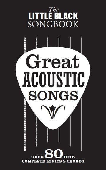 The Little Black Songbook Great Acoustic Songs