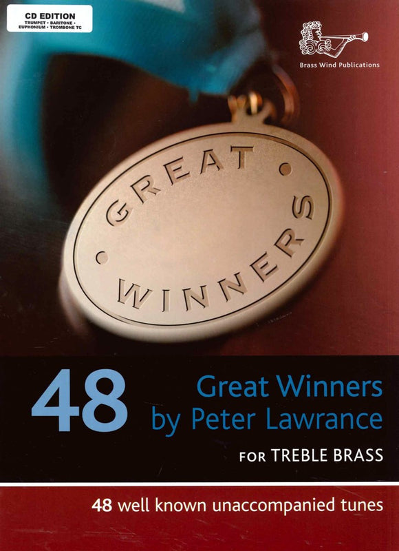 Great Winners Treble Brass CD Edition