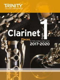 Trinity Clarinet Exams 2017-2020 (Score and part)