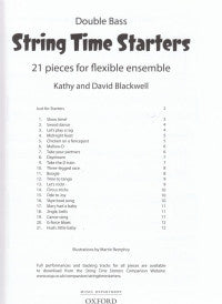 String Time Starters Bass Book