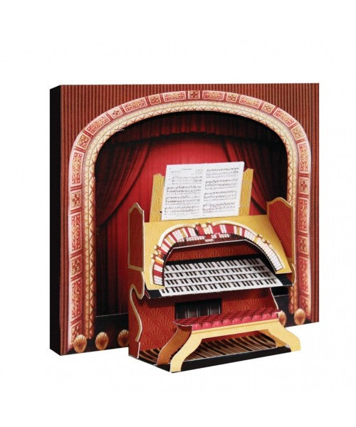 3D Theatre Organ Card