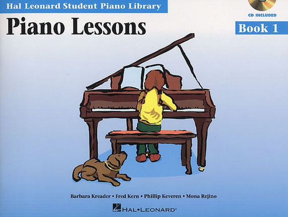 Hal Leonard Student Piano Library: Piano Lessons Book 1 (Book/CD)