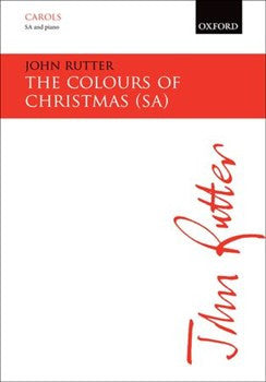 Colours Of Christmas Rutter Sa & Piano