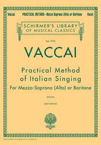 Vaccai: Practical Method Mezzo (Alto)/Baritone