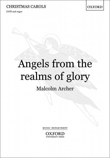 Angels, from the realms of glory SATB