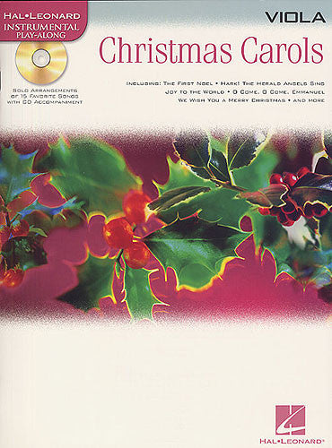 Hal Leonard Play-Along: Christmas Carols Viola