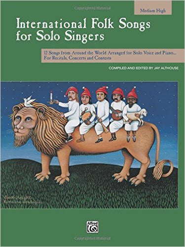 International Folk Songs for Solo Singers Med/High