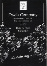 Two's Company - Duets for Flute/Oboe & Clarinet