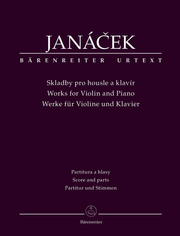 Janacek: Works for Violin and Piano
