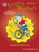 Singing Sherlock: Book 4 + 2CD