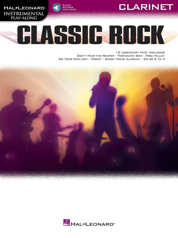 Classic Rock Instrumental Play-along