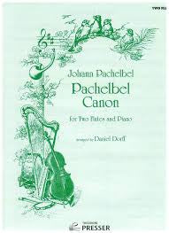 Pachelbel: Canon for Two Flutes/Piano