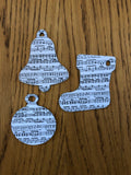 CraftyLu Handmade  Musical Christmas Decorations