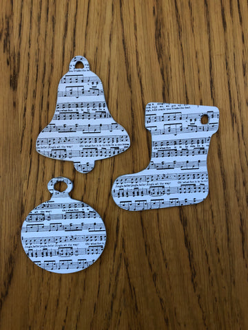 handmade musical christmas decorations