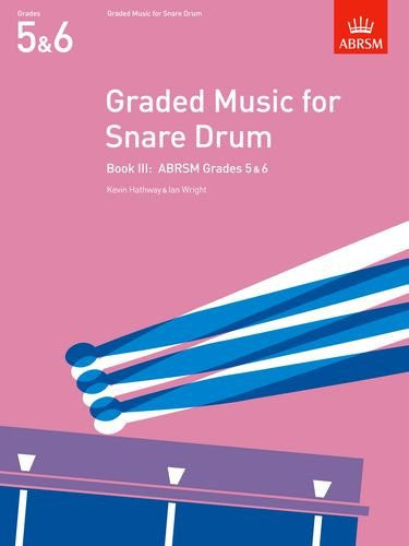 Graded Music for Snare Drum Book 3 Gds 5&6