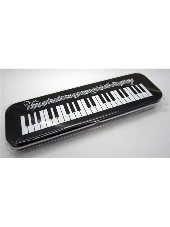 Keyboard Design Tin Pencil Case