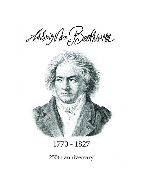 Beethoven 250th Anniversary Greetings Card