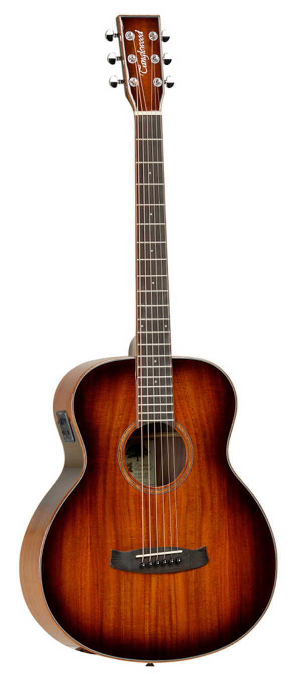 Tanglewood Mini Folk Autumn Burst Electro Acoustic Guitar