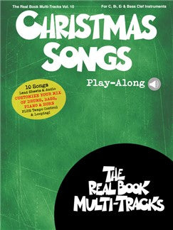 Christmas Songs Play-Along: Real Book Multi-Tracks Volume 10