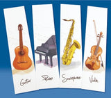 Music Bookmarks - Instruments
