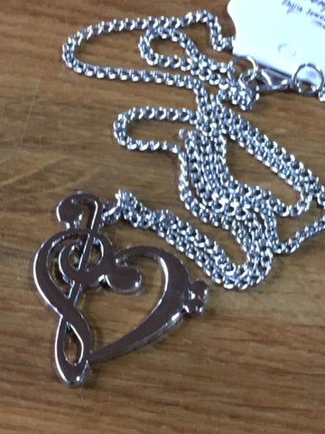 Clefs Necklace