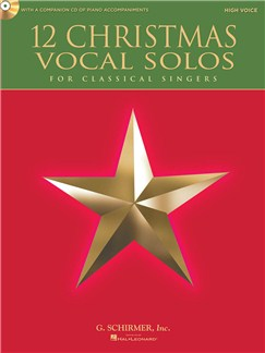 12 Christmas Vocal Solos - High Voice