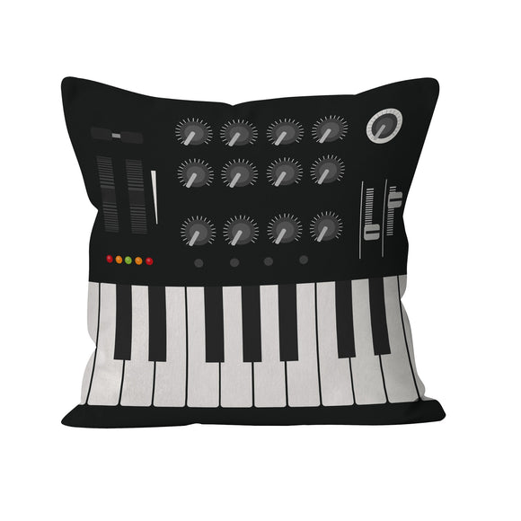 Rock Club Cushion Cover Synthesizer